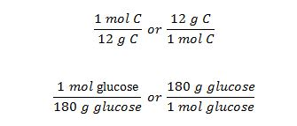 mole grams conversion factor